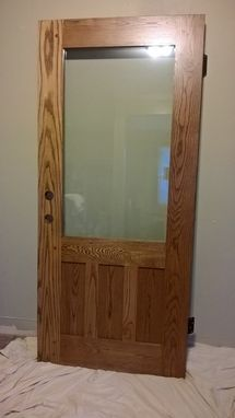 Custom Made Craftsman Back Door