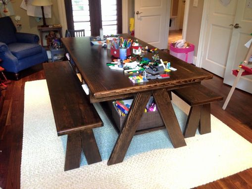 Custom Made Kids Craft Table