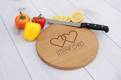 Custom Made Personalized Cutting Board, Engraved Cutting Board, Custom Wedding Gift – Cbr-Wo-Lesliejohnathan