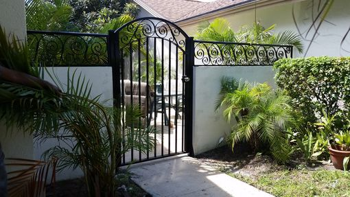 Custom Made Fully Welded Aluminum Pedestrian Gates