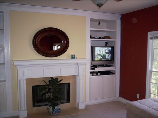 Custom Made Living Room Built-Ins