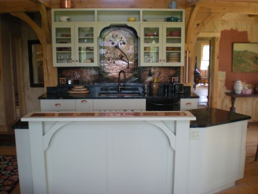 Custom Made Artful Country Kitchen