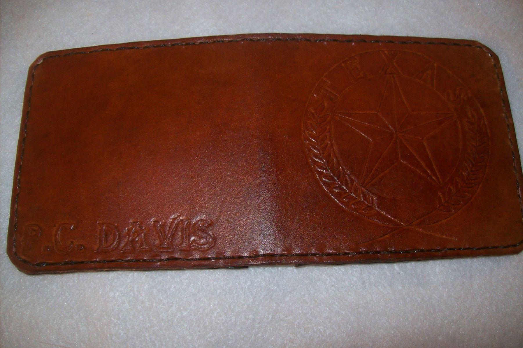 Buy A Handmade Custom Leather Wallet With Custom Interior