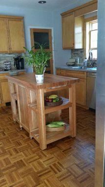 Custom Made Cullinary Carts For The Kitchen