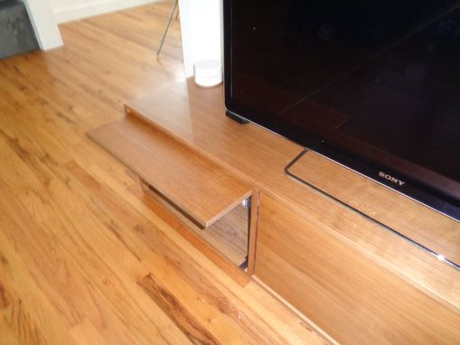 Custom Made Minimalist Media Unit