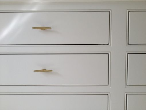 Custom Made Built In Bathroom Storage Cabinet