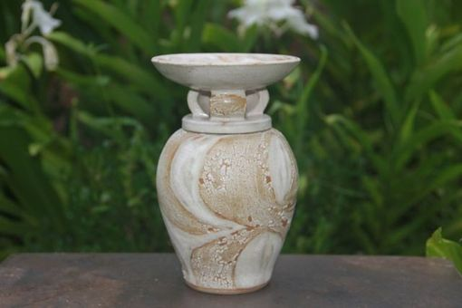 "Custom Made Urn - ""Winged Purity"""