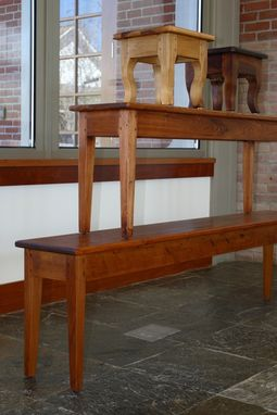 Custom Made Acadian Style Benches