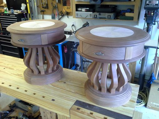 Custom Made Handmade Custom End Tables