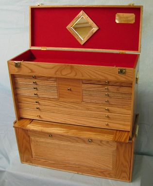Custom Made Machinist Tool Chest
