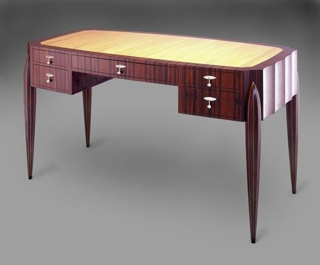 Custom Made Ebony Desk