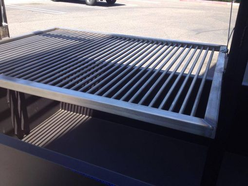 Custom Made Stainless Grill Grate