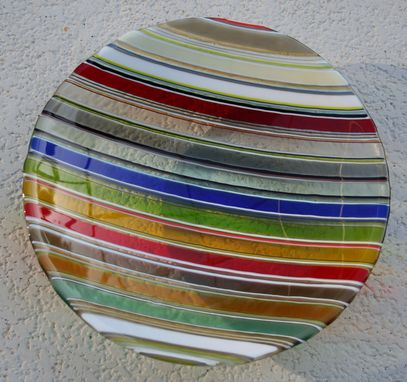 Custom Made Striped Bowl