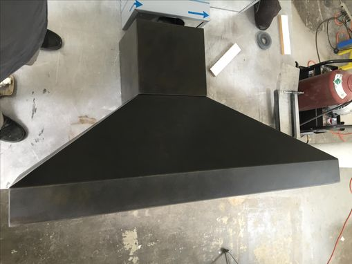Custom Made #41 Simple And Extra Bold Zinc Range Hood Hand Crafted