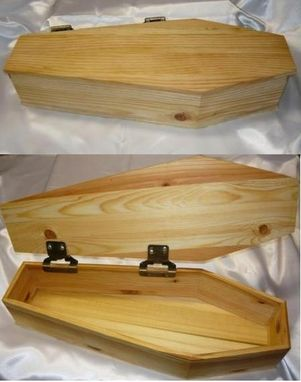 Custom Made Mini Wood Coffins