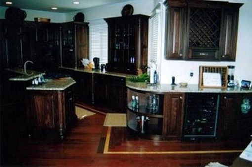 Custom Made Bolivian Rosewood Kitchen