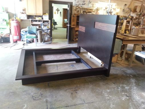 Custom Made Contemporary Platform Frame For Swiss Sleep System Bed.