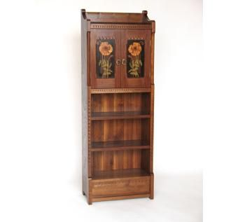 Custom Made Poppy Bookcase