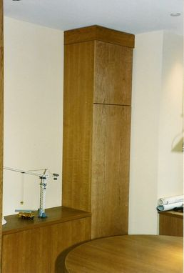 Custom Made Office  Cabinetry Cherry