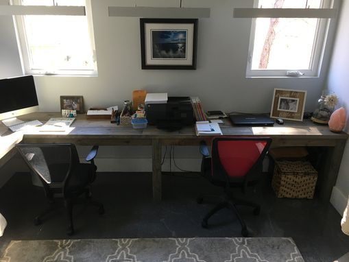 Custom Made Rustic Desk