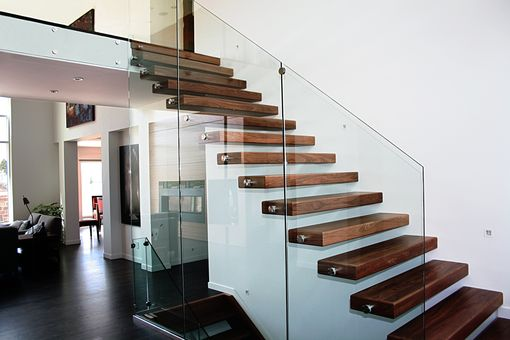Custom Made Cantilevered Stair