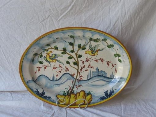 Custom Italian Serving Platters By The Pottery Co Custommade Com