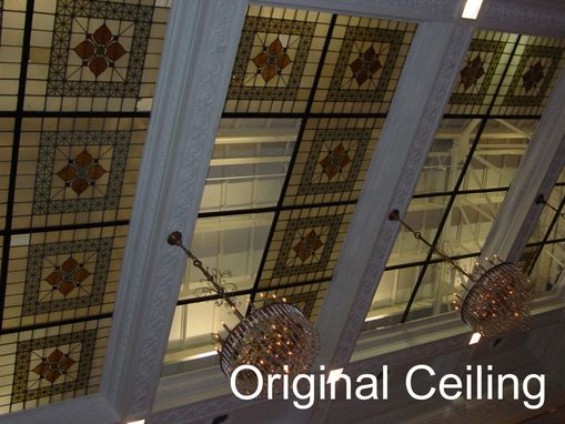 Custom Made Faux Stain Glass Ceiling
