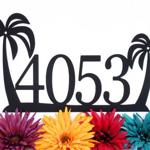 custom house numbers and letters | custom address signs