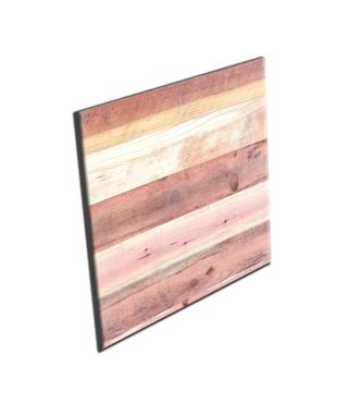 Custom Made #58 Decorative Reclaimed Red Wood Art Board
