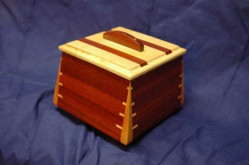 Custom Made Bloodwood & Maple Box