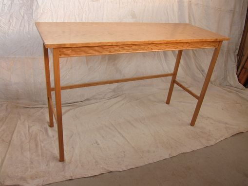 Custom Made Figured Cherry Entry , Sideboard Table .