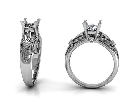 Custom Made Jewelry/Rings/Engagement Diamond Ring/ Wedding Ring