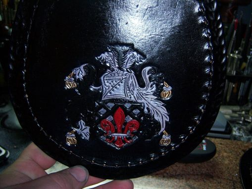 Custom Made Family Crest Sporran 2
