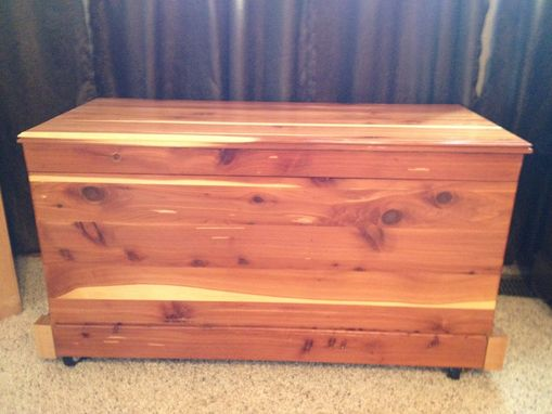 Custom Made Cedar Chest Restoration