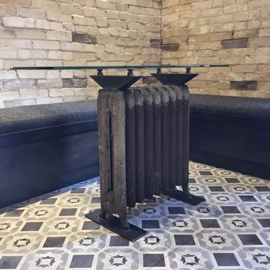 Custom Made Radiator Tables