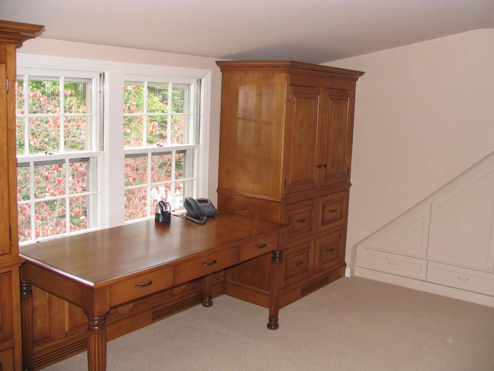 Hand Made Home Office By Custom Woodworking Design Llc Custommade Com