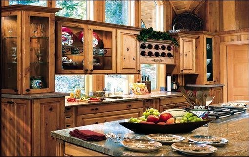 Custom Made Rustic Cozy Kitchen