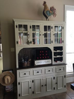 Custom Made Dining Room Wine Hutch