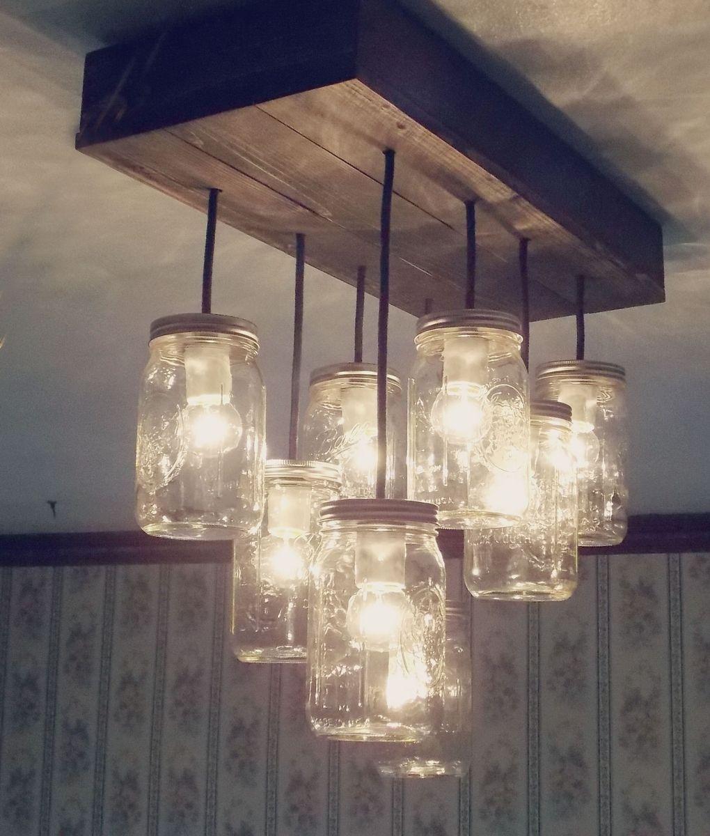 custom made the betty 8 light mason jar chandelier by rubbishloveshoppe custommadecom betty 8 light mason jar