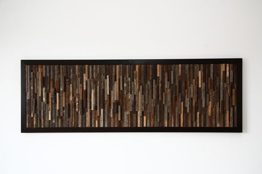 Custom Made Reclaimed Wood Wall Art Made Of Old Barnwood, Different Sizes Available.