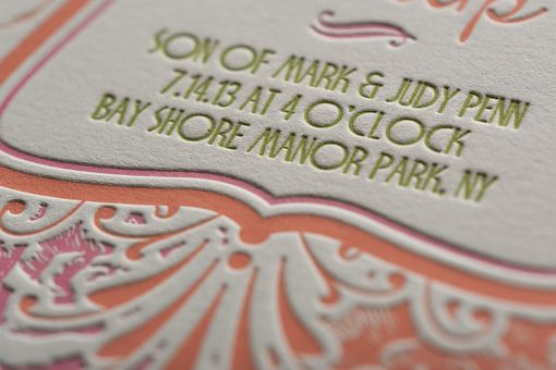 Custom Made Wedding Invitations - Luxembourg