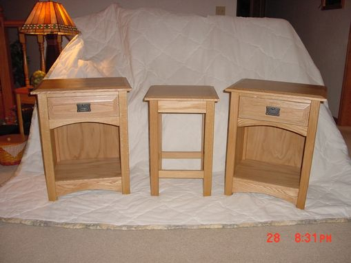 Custom Made Mission Style Night Stands