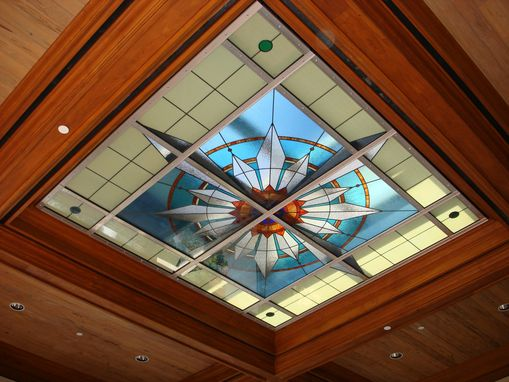 Custom Made Luxuria Portecochere Skylight At The Luxuria Condominium Located On The Atlantic Ocean, Boca Raton, Fl