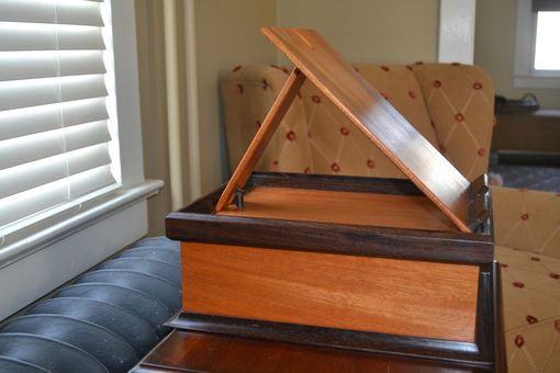 Custom Made Heirloom Easel Book Box