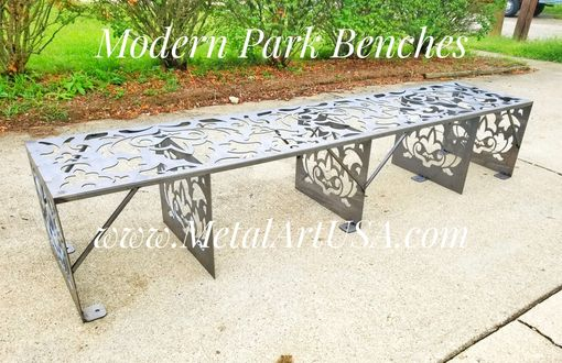Custom Made Modern Park Benches