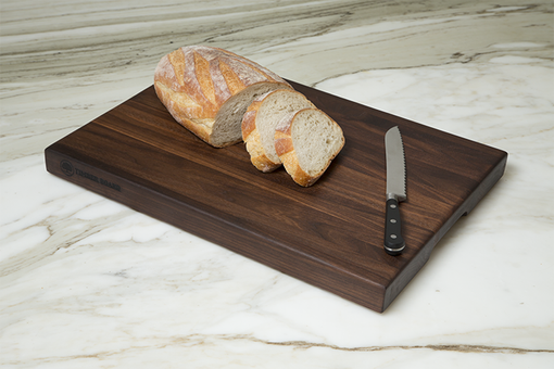 Custom Made Walnut Cutting Board, Edge Grain