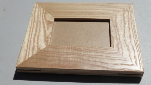 Custom Made Ash/Walnut 4x6 Picture Frame