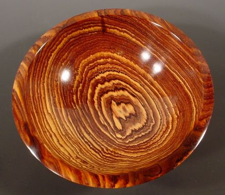 Custom Made Exotic Wood Cocobolo Bowl