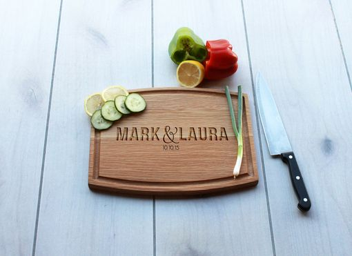 Custom Made Personalized Cutting Board, Engraved Cutting Board, Custom Wedding Gift – Cba-Wo-Marklaura