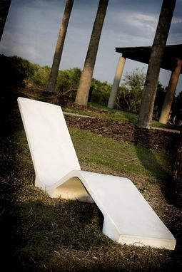 Custom Made Skinny Concrete Lounger